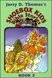 Shoebox Kids Bible Stories - Book 5